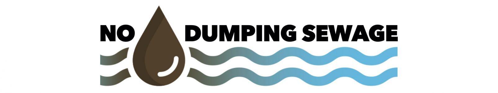 No Dumping Sewage